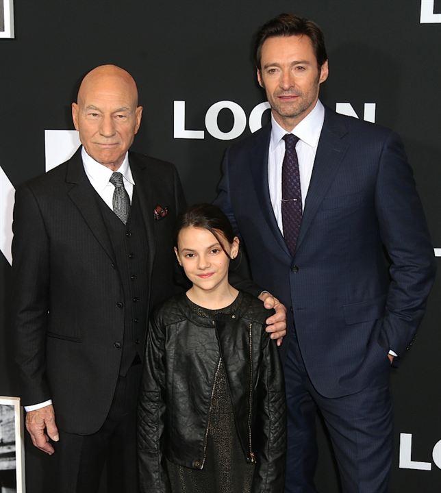 Logan: Wolverine : Vignette (magazine) Dafne Keen, Hugh Jackman, Patrick Stewart