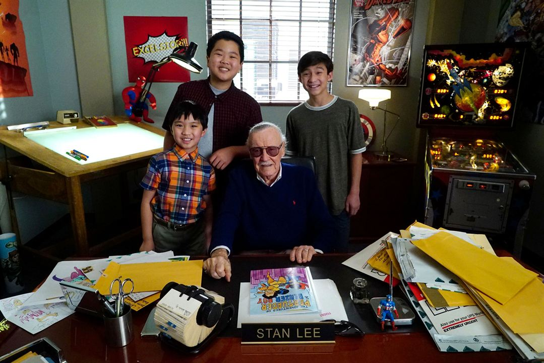 Fotograf Ian Chen, Stan Lee