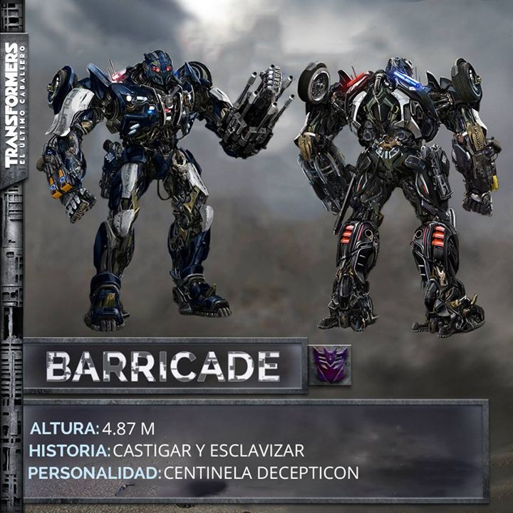 Transformers 5: Son Sövalye : Vignette (magazine)