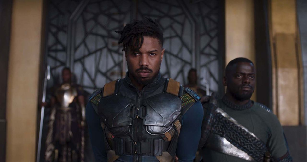 Black Panther : Fotograf Daniel Kaluuya, Michael B. Jordan