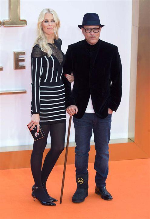 Kingsman: Altin Çember : Vignette (magazine) Claudia Schiffer, Matthew Vaughn