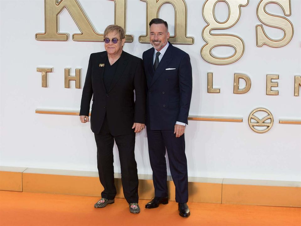 Kingsman: Altin Çember : Vignette (magazine) Elton John