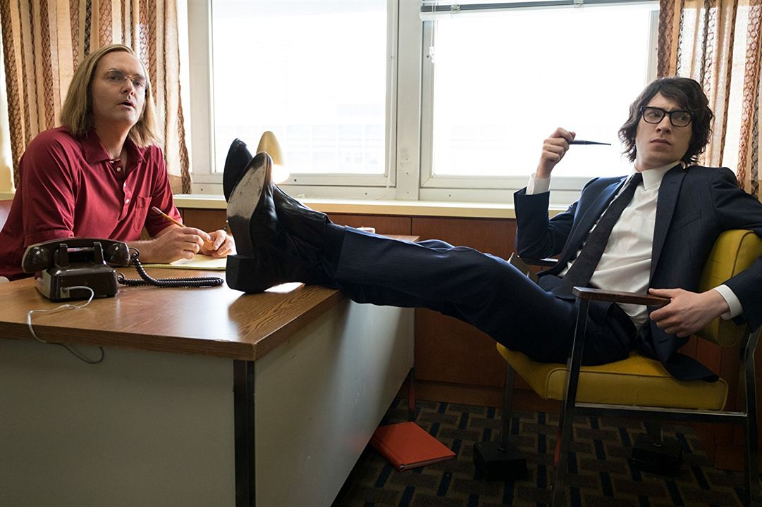 A Futile And Stupid Gesture : Fotograf Domhnall Gleeson, Will Forte