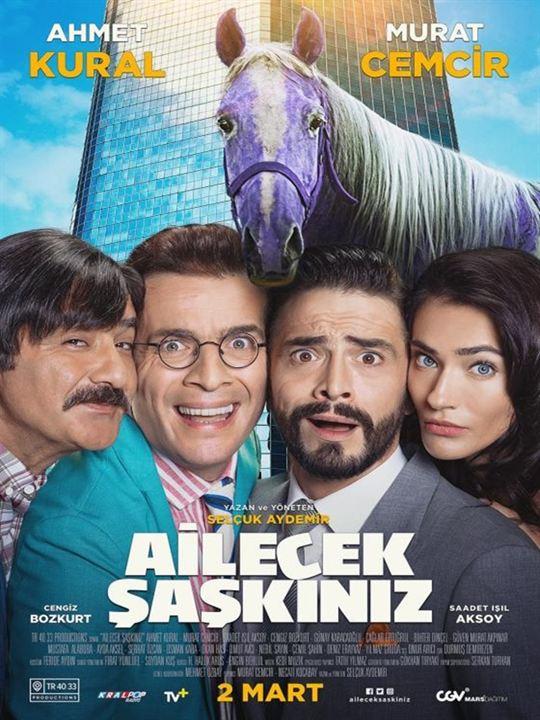 Ailecek Saskiniz : Afis