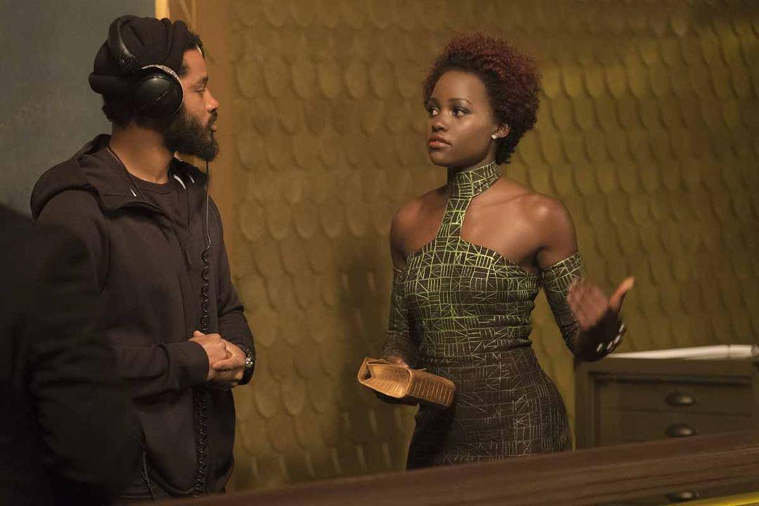 Black Panther : Fotograf Lupita Nyong'o, Ryan Coogler