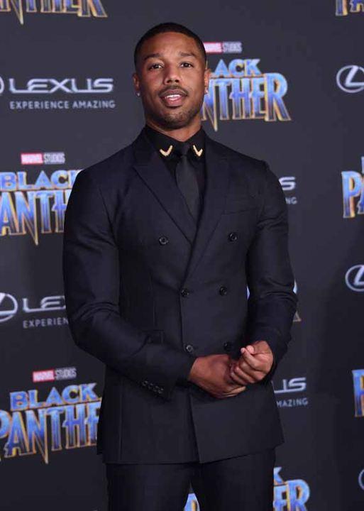 Black Panther : Vignette (magazine) Michael B. Jordan