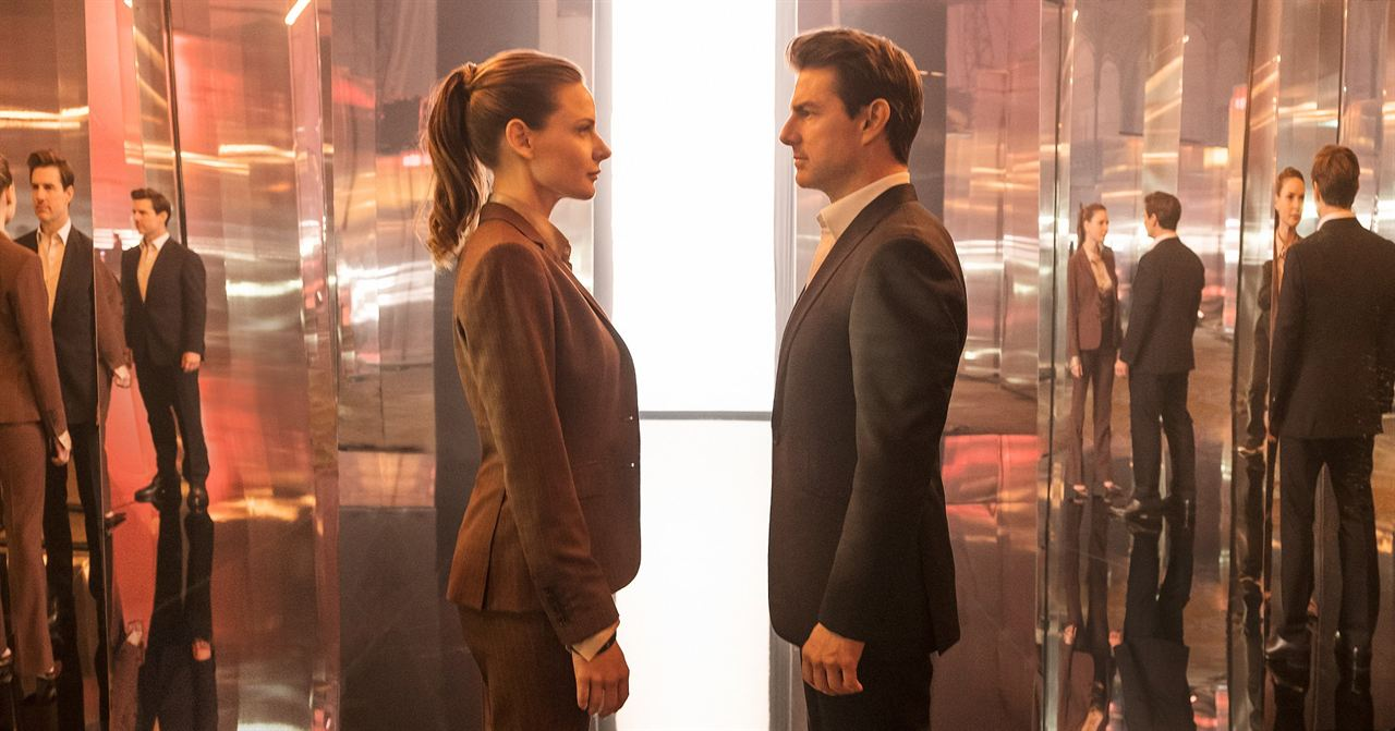 Mission: Impossible Yansimalar : Fotograf Rebecca Ferguson, Tom Cruise