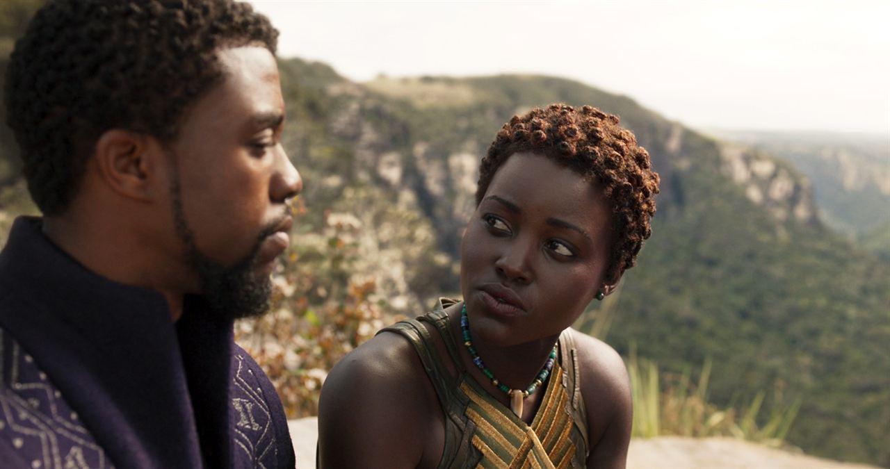 Black Panther : Fotograf Chadwick Boseman, Lupita Nyong'o