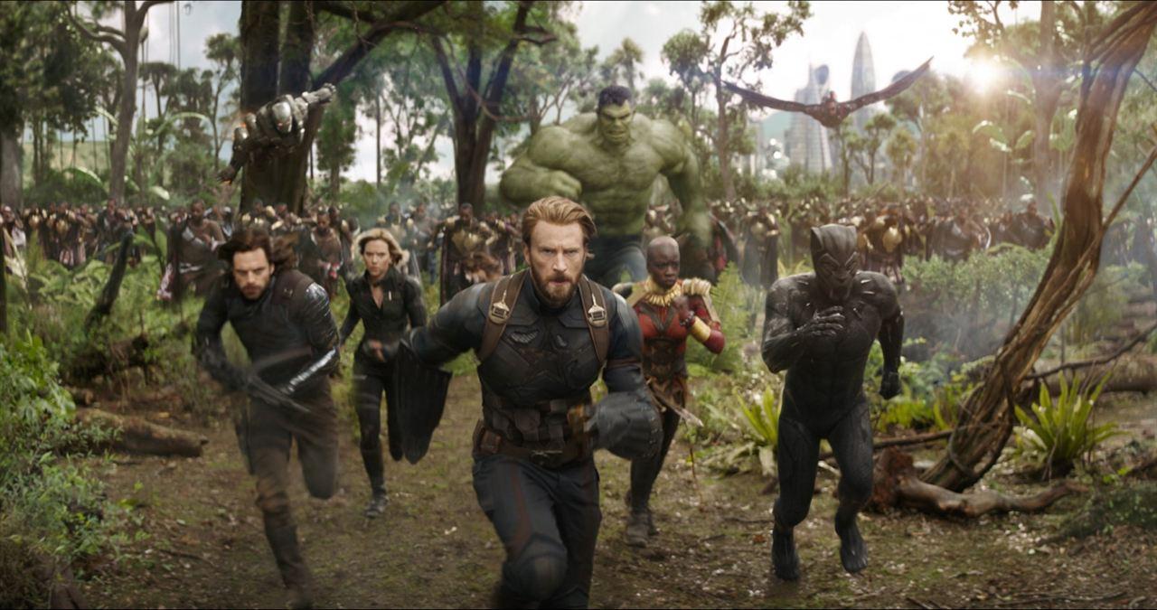 Avengers: Sonsuzluk Savasi : Fotograf Anthony Mackie, Chadwick Boseman, Chris Evans, Danai Gurira, Don Cheadle