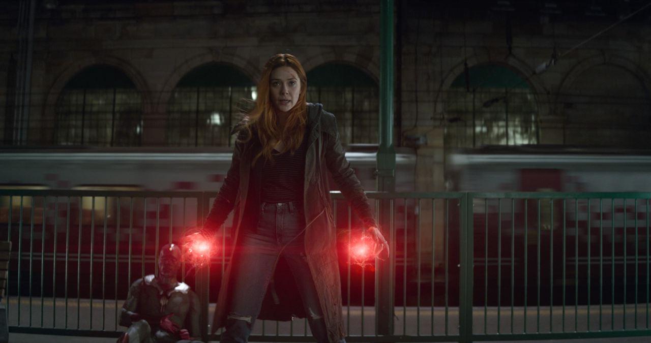 Avengers: Sonsuzluk Savasi : Fotograf Elizabeth Olsen