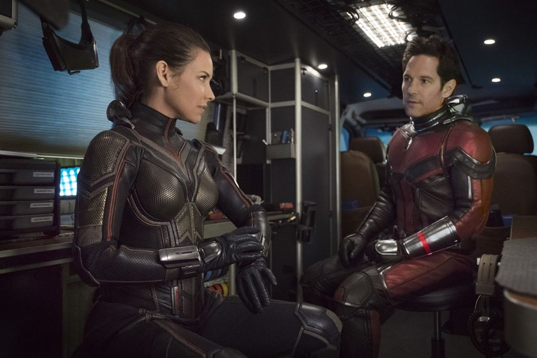 Ant-Man ve Wasp : Fotograf Evangeline Lilly, Paul Rudd
