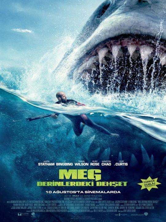 Meg: Derinlerdeki Dehset : Afis
