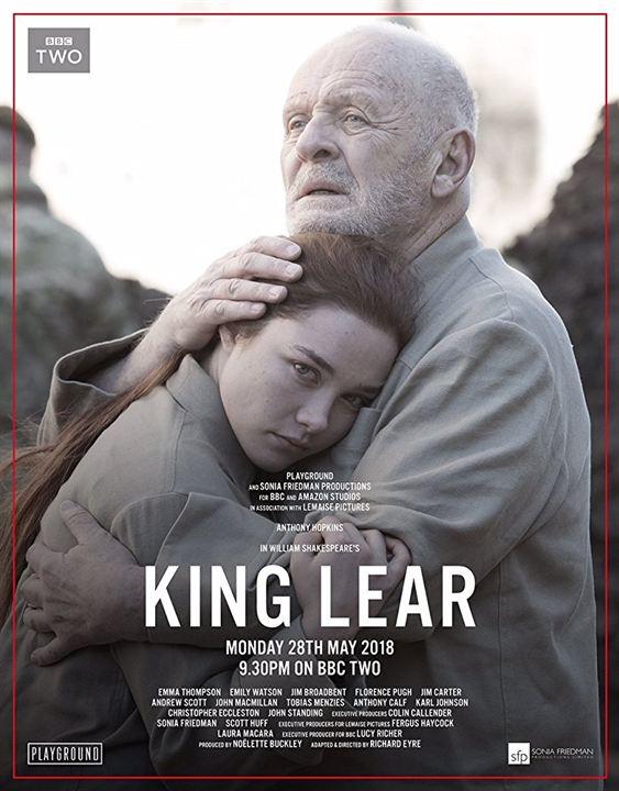 King Lear : Afis