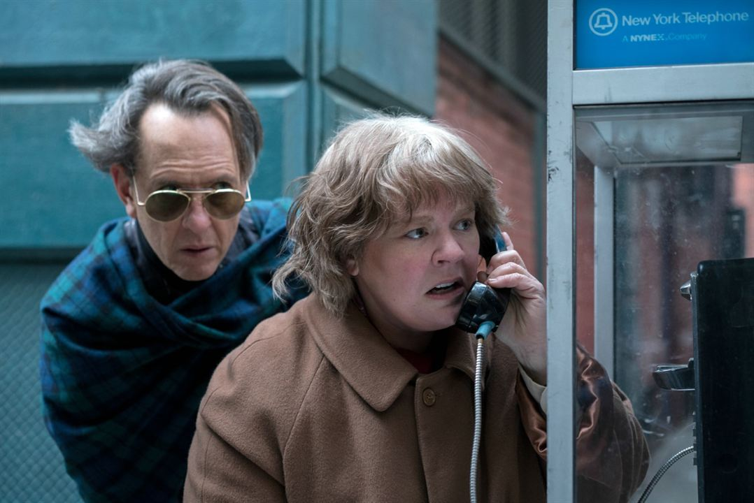 Can You Ever Forgive Me? : Fotograf Melissa McCarthy, Richard E. Grant