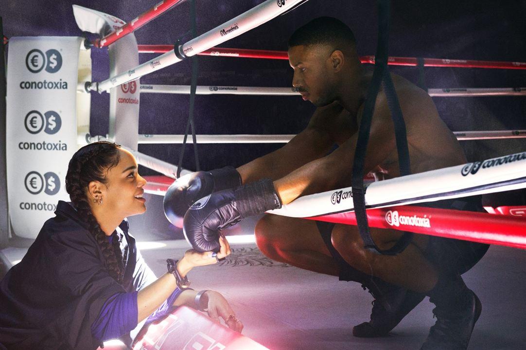Creed II: Efsane Yükseliyor : Fotograf Michael B. Jordan, Tessa Thompson