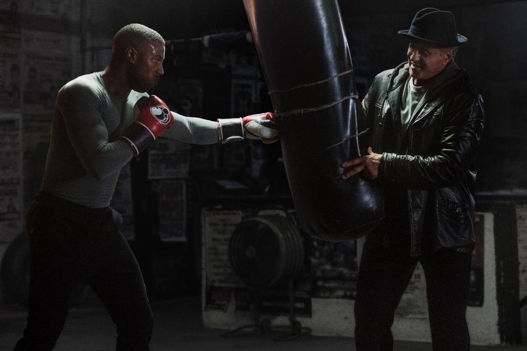 Creed II: Efsane Yükseliyor : Fotograf Michael B. Jordan, Sylvester Stallone