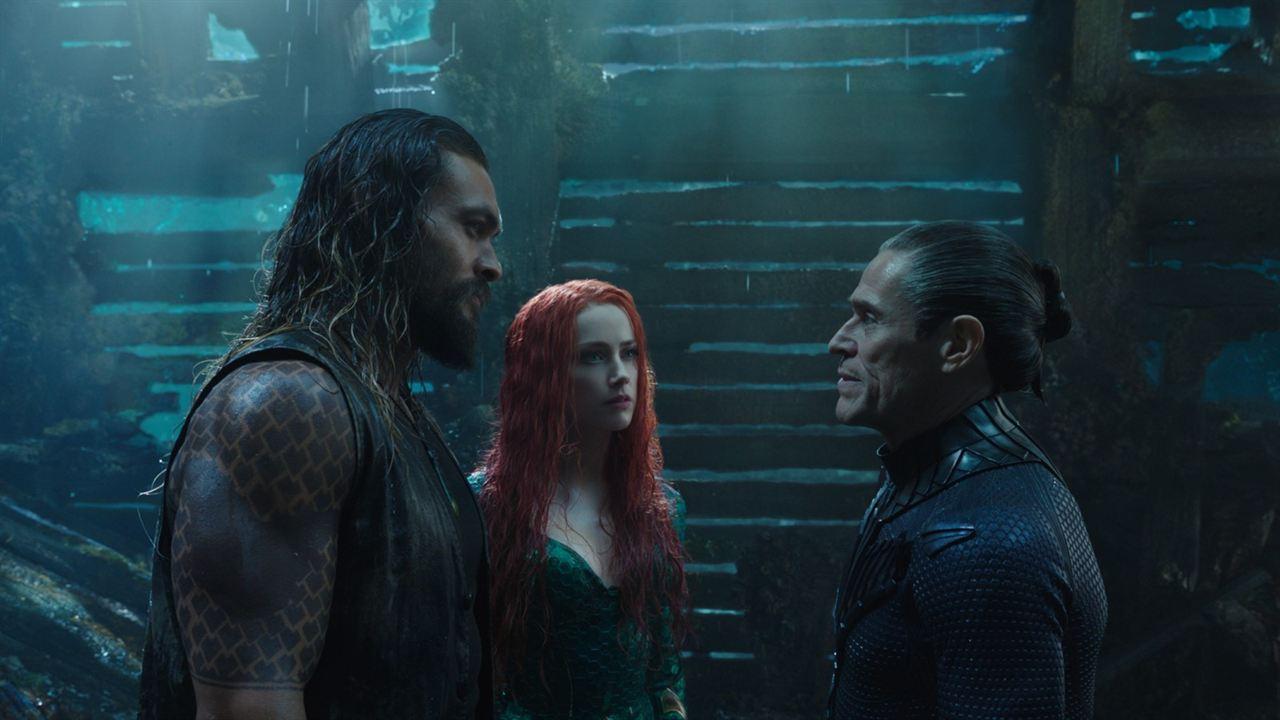 Aquaman : Fotograf Amber Heard, Jason Momoa, Willem Dafoe