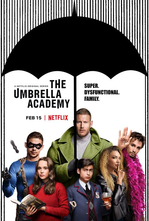 The Umbrella Academy : Afis