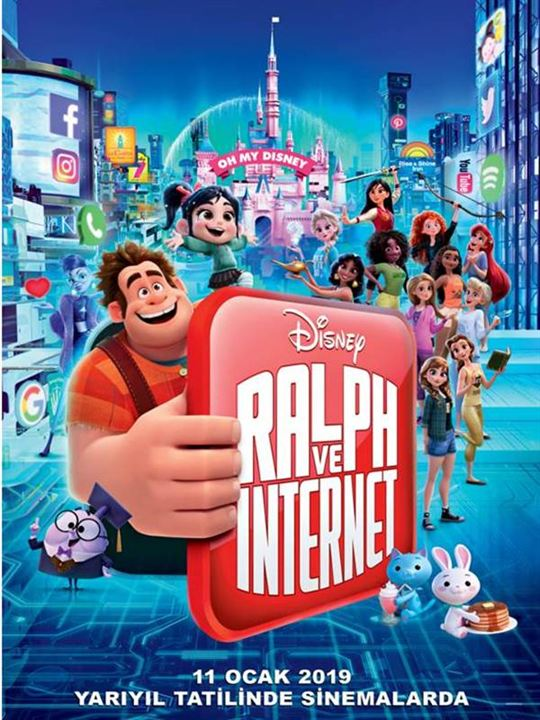 Ralph ve Internet : Afis