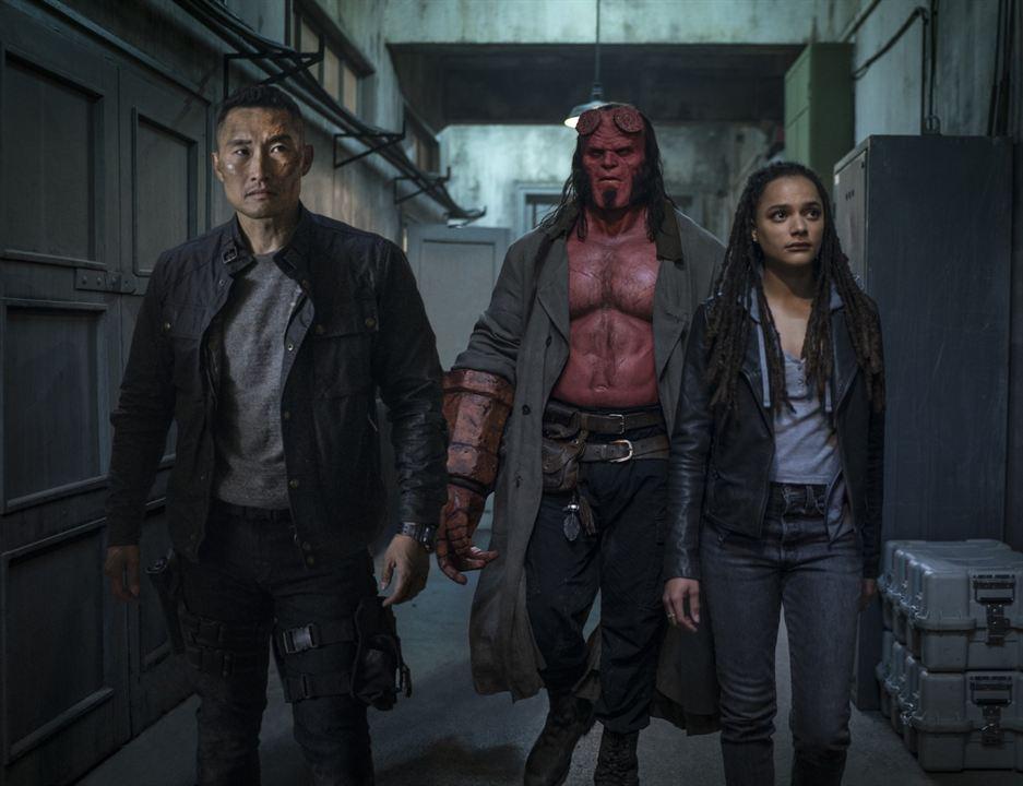 Hellboy : Fotograf Daniel Dae Kim, David Harbour, Sasha Lane