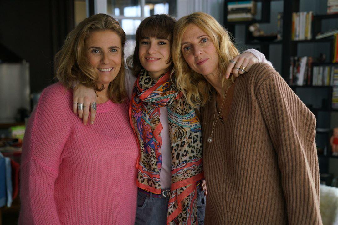 Fotograf Lisa Azuelos, Sandrine Kiberlain, Thaïs Alessandrin