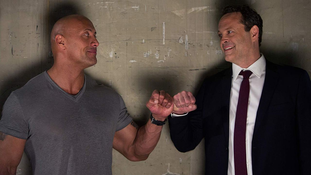 Fighting With My Family : Fotograf Dwayne Johnson, Vince Vaughn