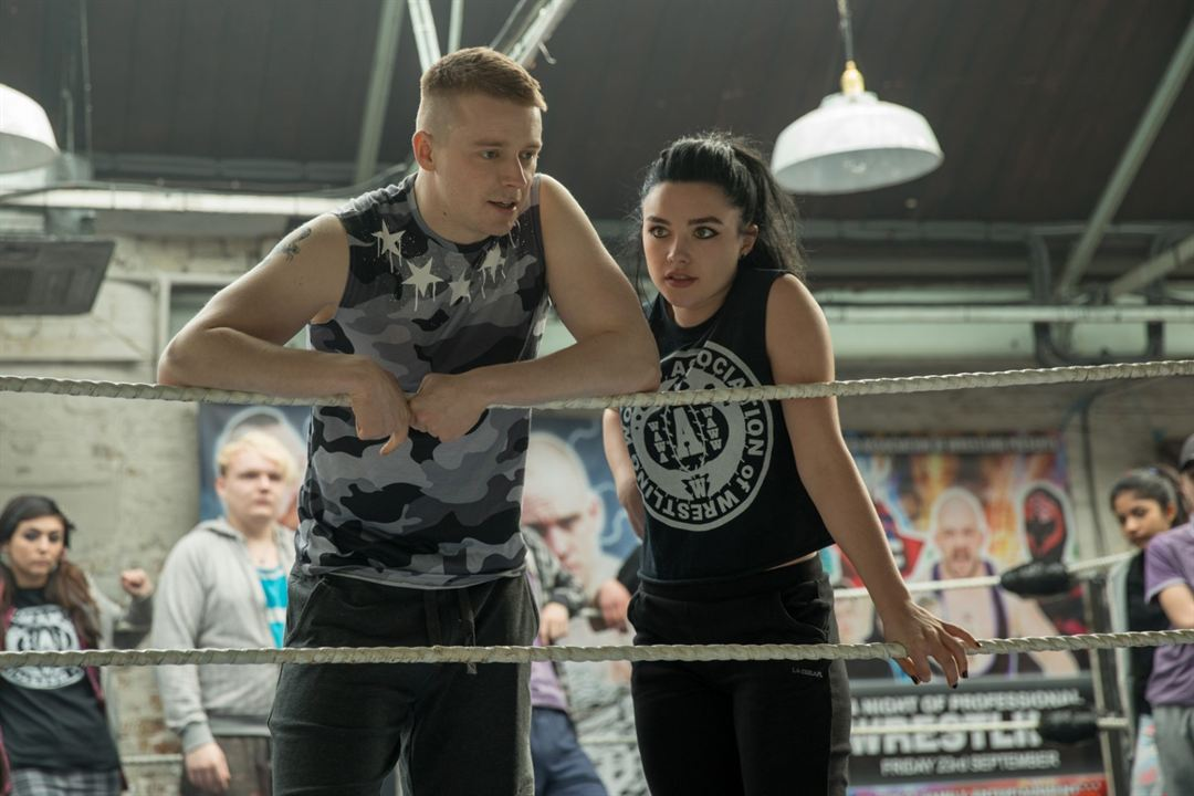 Fighting With My Family : Fotograf Florence Pugh, Jack Lowden