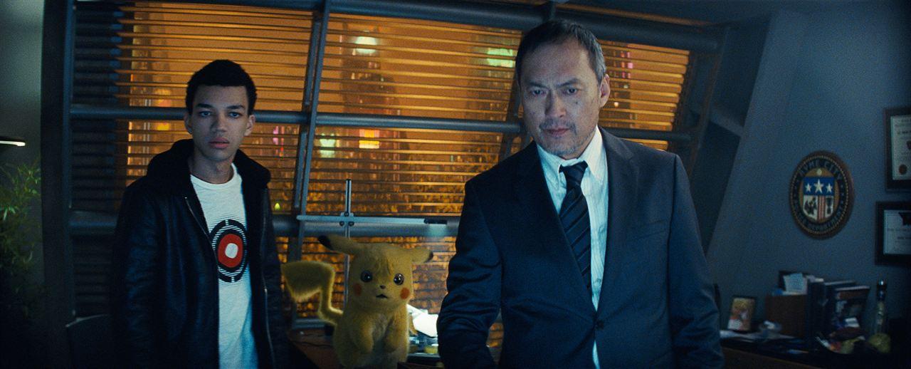 Pokémon Dedektif Pikachu : Fotograf Justice Smith, Ken Watanabe