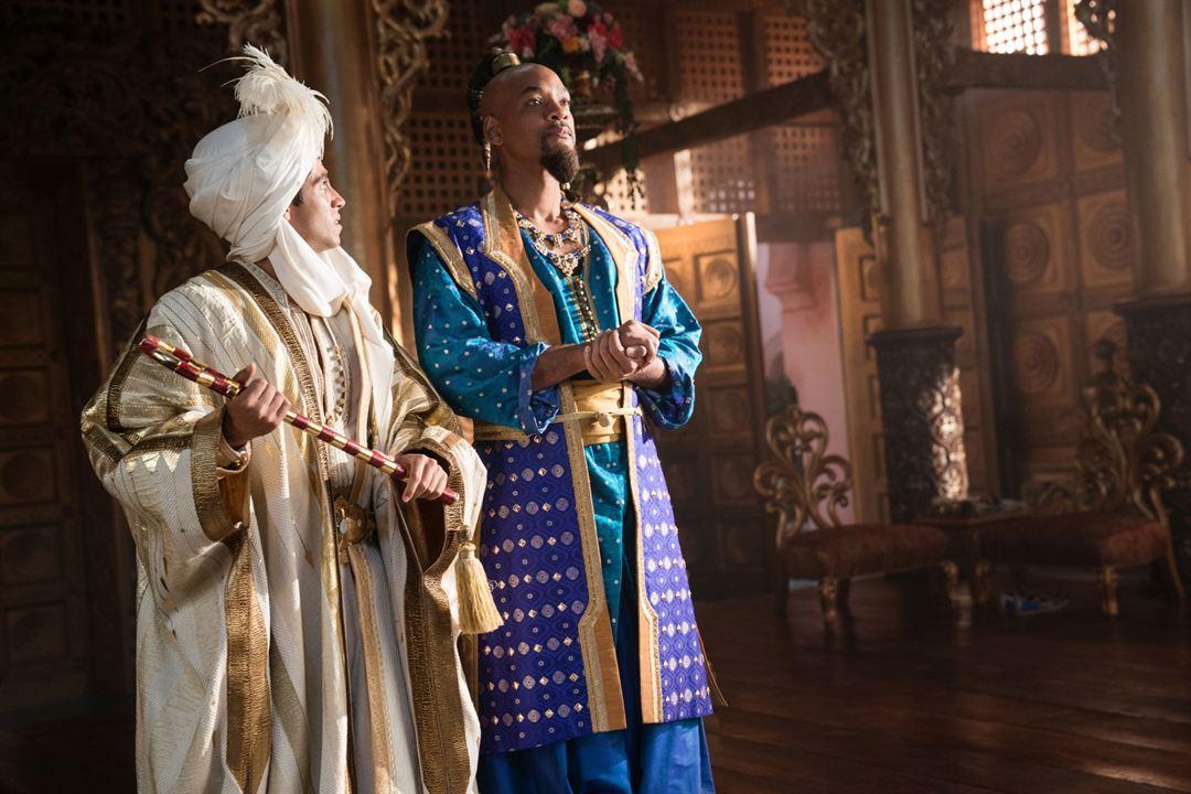 Aladdin : Fotograf Mena Massoud, Will Smith