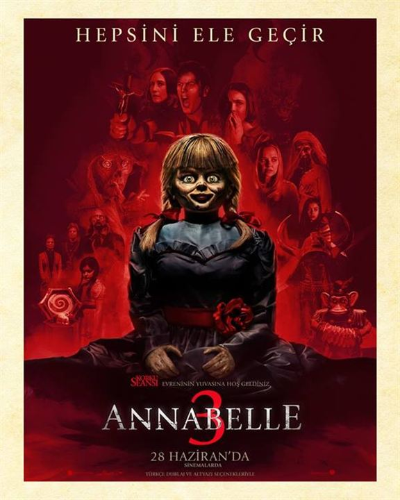 Annabelle 3 : Afis