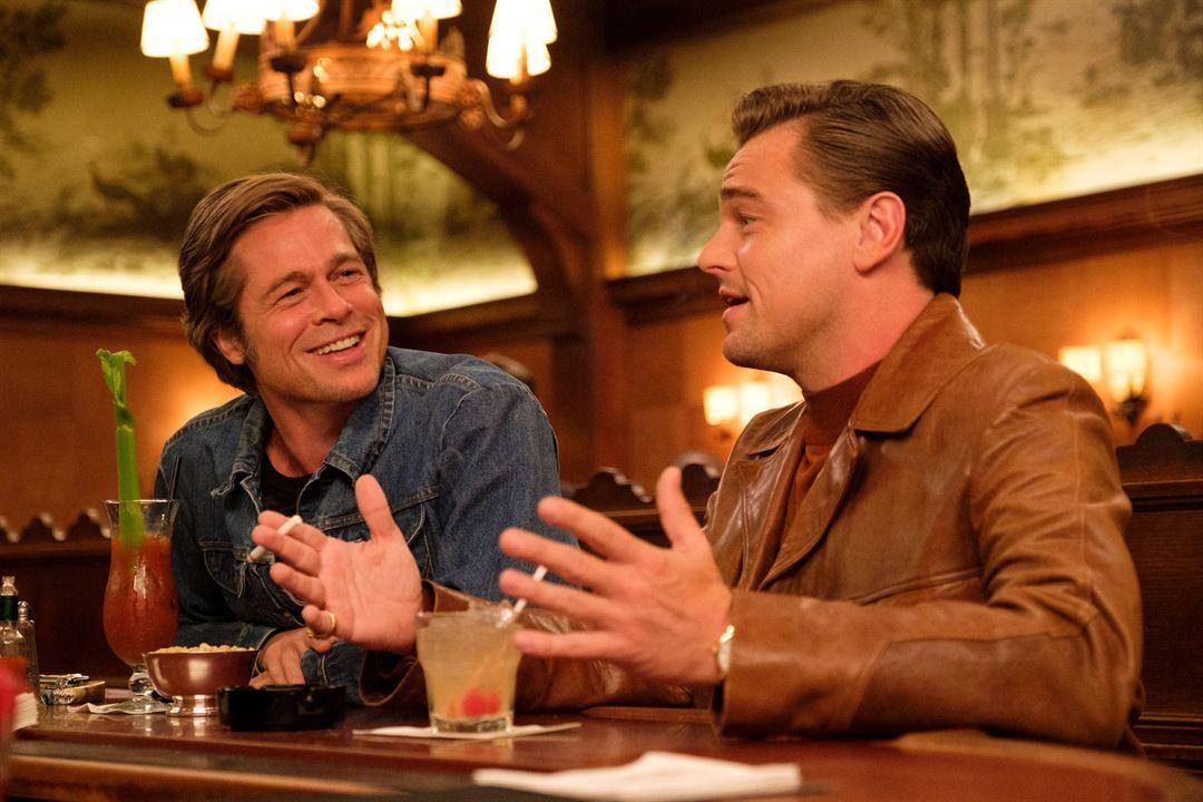 Bir Zamanlar... Hollywood'da : Fotograf Brad Pitt, Leonardo DiCaprio