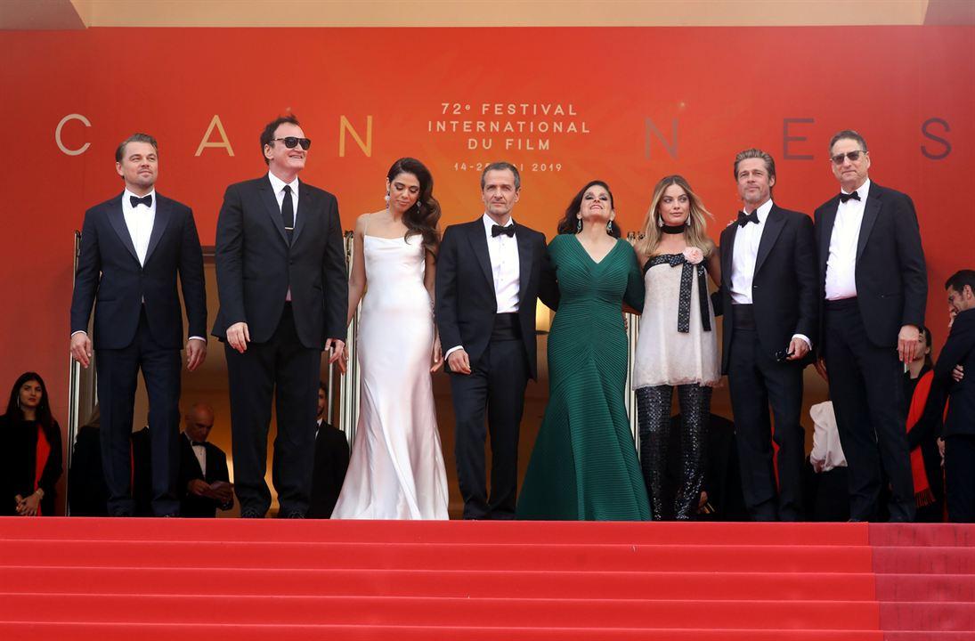 Bir Zamanlar... Hollywood'da : Vignette (magazine) Brad Pitt, David Heyman, Leonardo DiCaprio, Margot Robbie, Quentin Tarantino