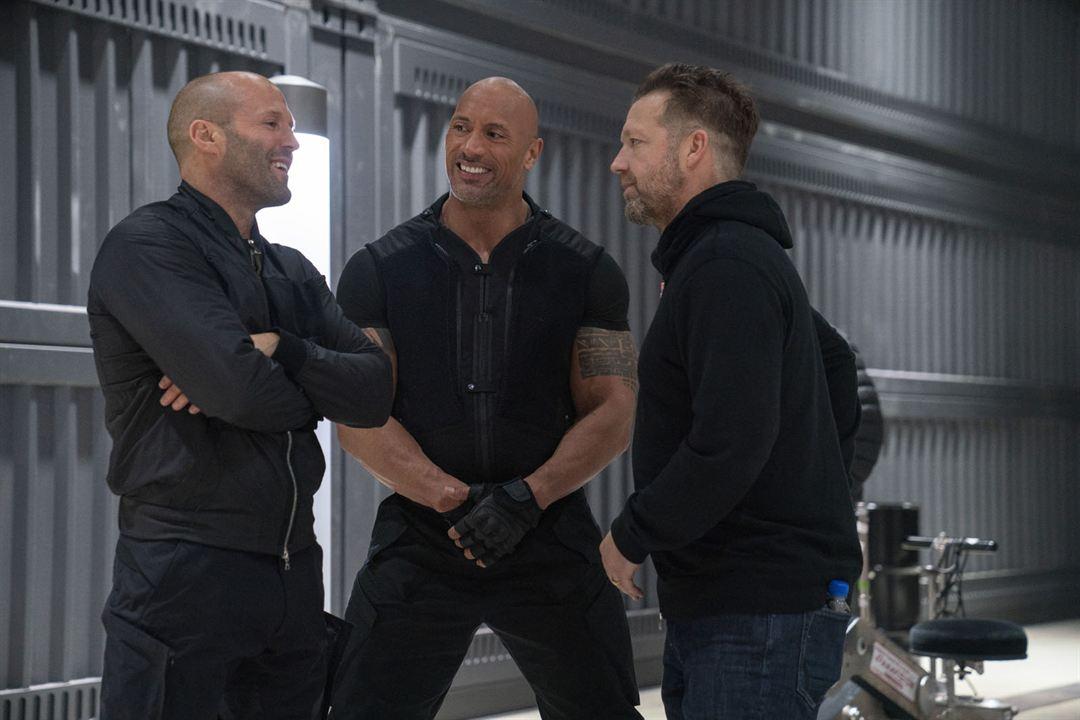 Hizli ve Öfkeli: Hobbs ve Shaw : Fotograf Dwayne Johnson, Jason Statham