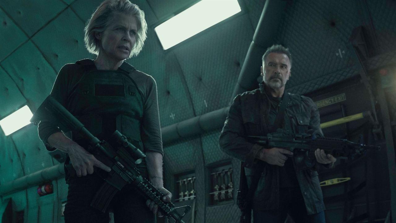 Terminatör: Kara Kader : Fotograf Arnold Schwarzenegger, Linda Hamilton