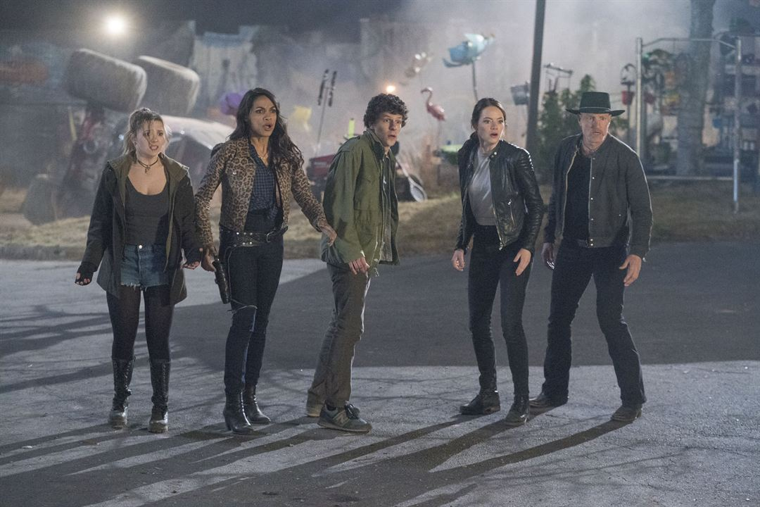 Zombieland: Double Tap : Fotograf Abigail Breslin, Emma Stone, Jesse Eisenberg, Rosario Dawson, Woody Harrelson