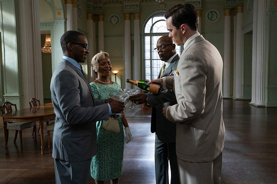 The Banker : Fotograf Anthony Mackie, Nia Long, Nicholas Hoult, Samuel L. Jackson