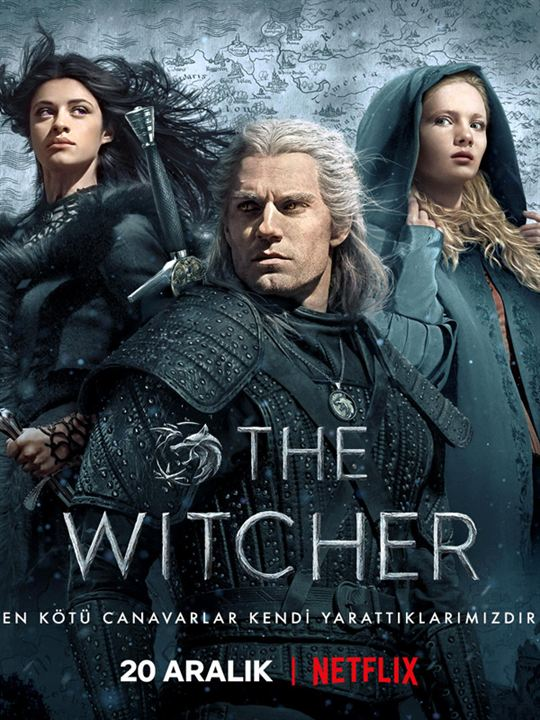 The Witcher : Afis