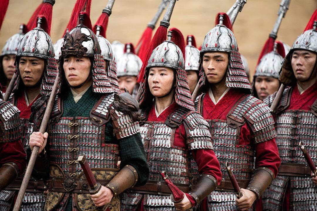 Mulan : Fotograf Liu Yifei, Yoson An