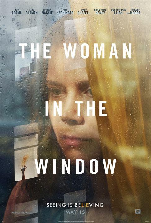 Penceredeki Kadin : Afis