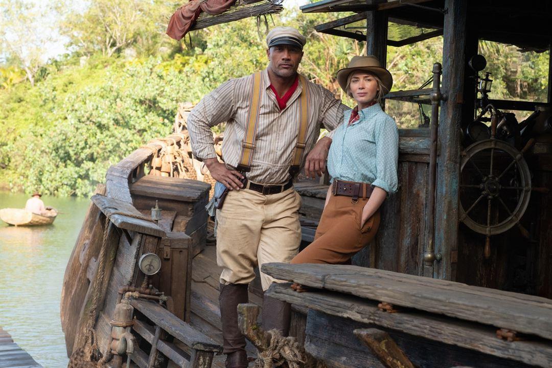 Jungle Cruise : Fotograf Dwayne Johnson, Emily Blunt