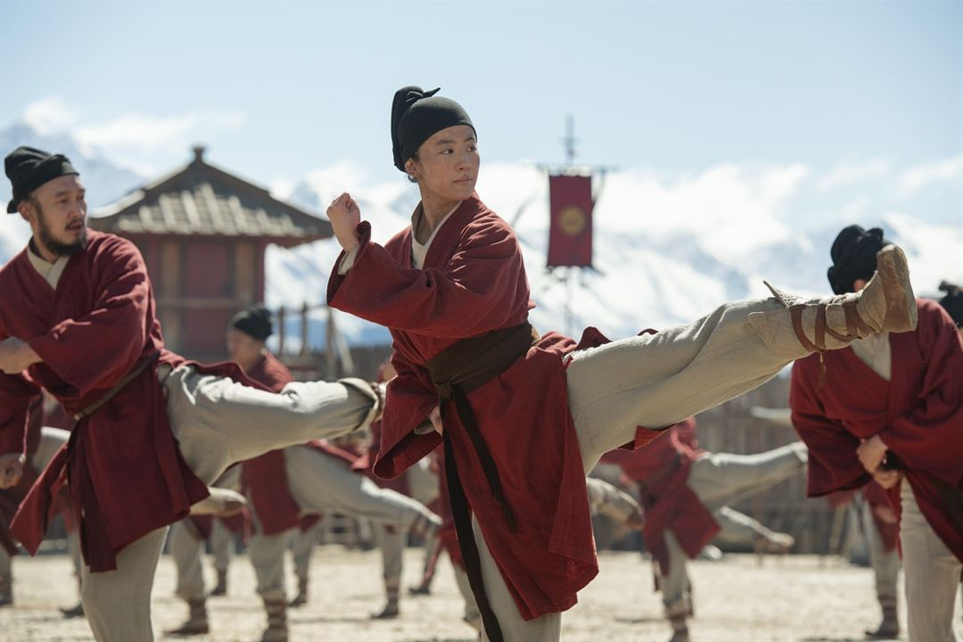 Mulan : Fotograf Liu Yifei