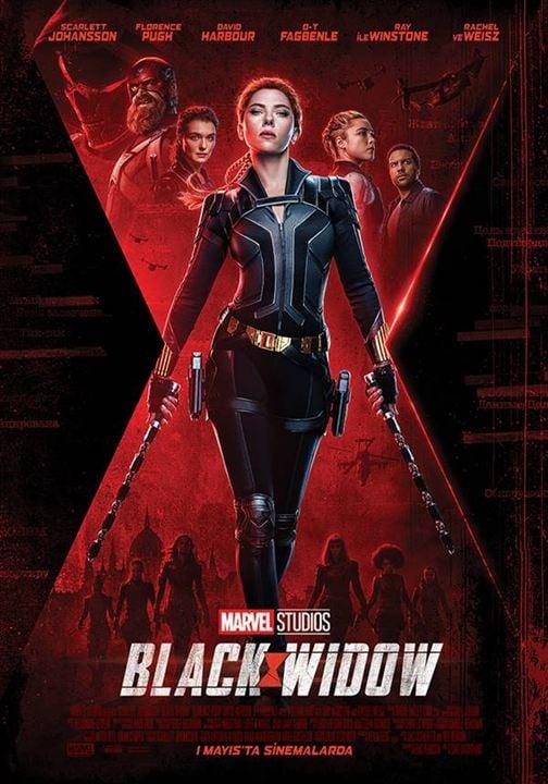 Black Widow : Afis