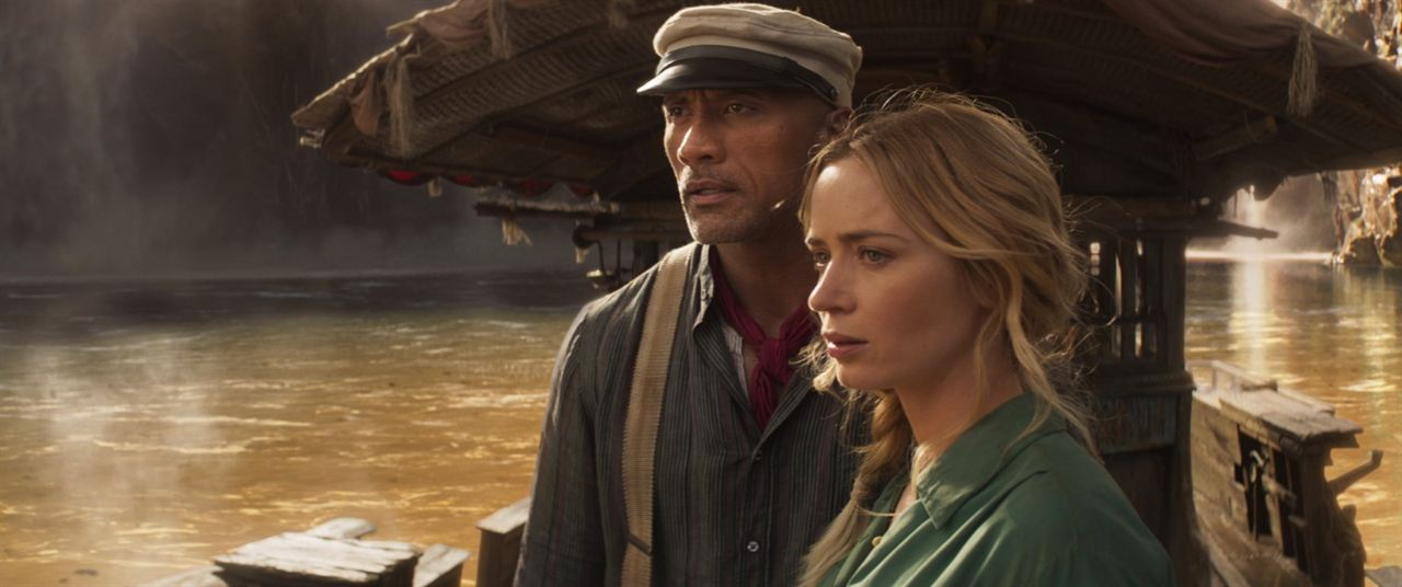 Jungle Cruise : Fotograf Dwayne Johnson, Emily Blunt