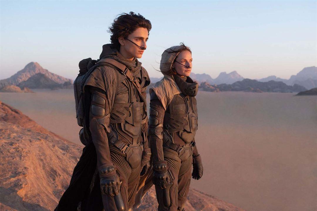 Dune: Çöl Gezegeni : Fotograf Rebecca Ferguson, Timothée Chalamet