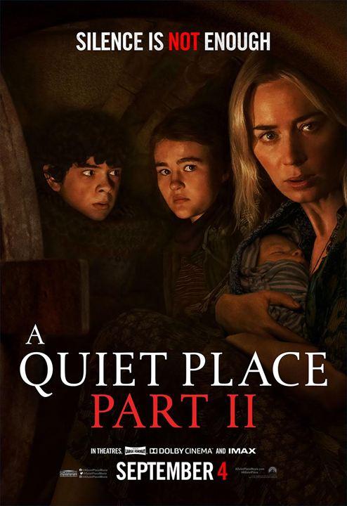 Sessiz Bir Yer 2 : Afis