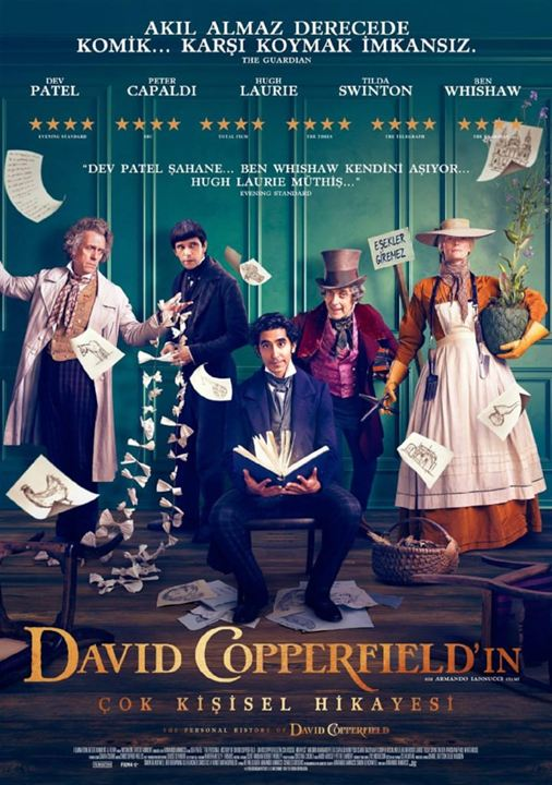 David Copperfield'in Çok Kisisel Hikayesi : Afis