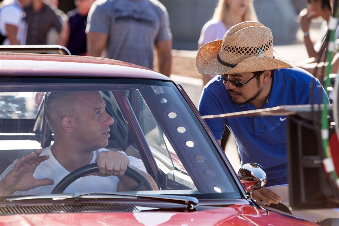 Hizli ve Öfkeli 6 : Fotograf Justin Lin, Vin Diesel