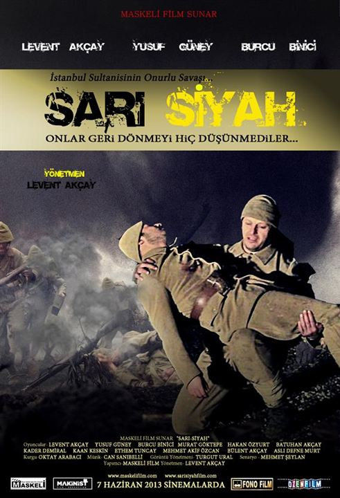 Sari Siyah : Afis