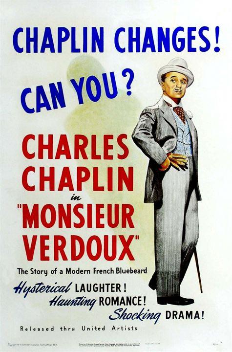 Monsieur Verdoux : Afis