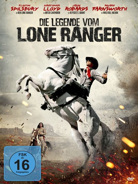 The Legend of the Lone Ranger : Afis